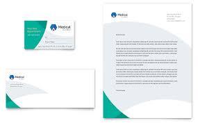 Letterhead Templates Design Medical Office Letterhead Medical Health Care Letterheads Templates
