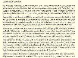Letter To Airline Solved The Following Letter Was Sent By Northwest Airline