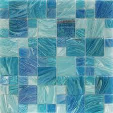 blue tiles. Plain Tiles Aquatic Sky Blue French Pattern Glass Tile Inside Tiles Q