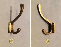 home storage 4x large robe hooks wall
