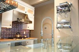 wall mount pot filler kitchen faucet concord satin nickel