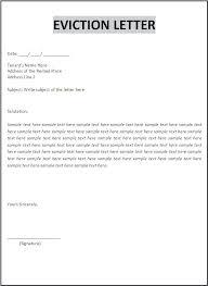 Rent Notice Letter Sample Rental Eviction Notice Template Beadesigner Co