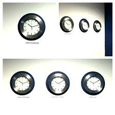 wall clocks for office. Office Wall Clocks With Different Time Zones Decorative  World Think Crafts By . Clock For