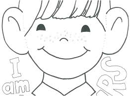 Learning Coloring Pages Learning Ng Pages Picture Preschool Kid Ear