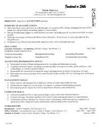 Resume Examples Resume Summary Of Qualifications Example For