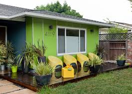 mid century modern front porch. Colorful Mid Century Modern Residence Midcentury-deck Front Porch E