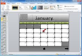 calendar template for powerpoint roadmap powerpoint template