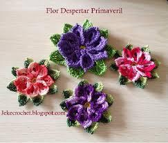 Patrón Flor Despertar Primaveral