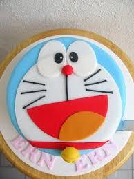 Ern Erns Doraemon Face Cake Sweet Tooth Doraemon Cake Cake
