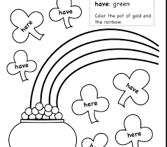 Sight Word Coloring Pages Printable Search Swear Book Page Bo
