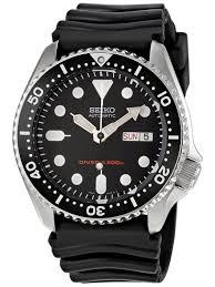 seiko skx007k1 automatic diver s watch image 1