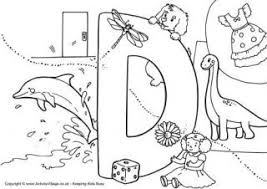 Letter D Coloring Pages Crna Cover Letter