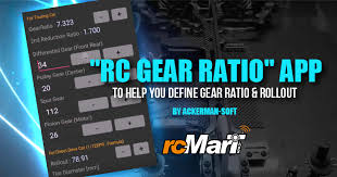 Rc Gear Ratio App To Help You Define Gear Ratio Rollout