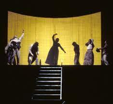 1993/94 I giganti della montagna di Luigi Pirandello, regia di Giorgio  Strehler, foto di Luigi Ciminaghi