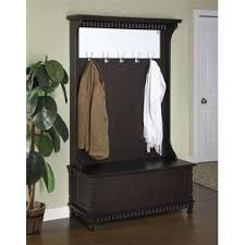 Coat Rack With Bench Seat Storage bench with coat rack plus hall storage bench seat plus entry 76
