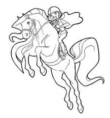 Small Picture Scarlet Long Mane in Horseland Coloring Pages Coloring Pages