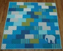 The Little Elephant Baby Quilt &  Adamdwight.com