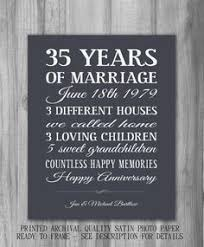30th 40th 50th anniversary gift by castleinndesigns on etsy it's Wedding Anniversary Gifts For Parents 35 Years could be a super fun way to do a \