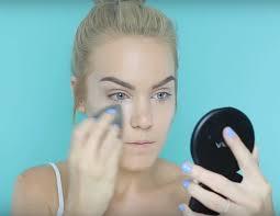 laura mercier secret brightening powder pastel ombre makeup tutorial for spring 2016 check