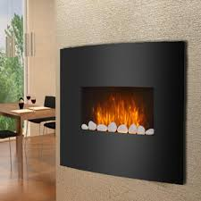 wall mount electric fireplaces. Curved Glass Wall Mounted Electric Fireplace Mount Fireplaces 3