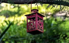 hanging lantern lamp garden decor