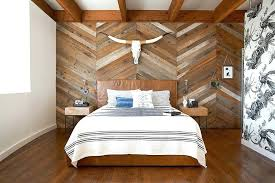 wooden wall bedroom view in gallery reclaimed wood wall with chevron pattern steals the show in wooden wall bedroom