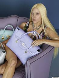 unretouched photos from lady a s versace shoot resurface showing her without makeup