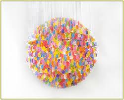 gummy bear chandelier diy