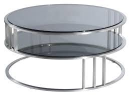 Metal Coffee Table Frame Round Glass Coffee Table Round Glass Coffee Table With Ottomans