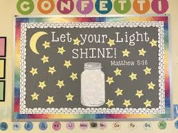 Be The Light Bulletin Board Pin On Miss Meghans Classroom