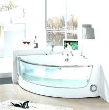 modern corner bathtub corner baths shower corner bathtub dimensions splendid whirlpool tub with modern steam shower
