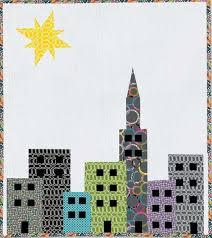 21 best dibujos de ciudades images on Pinterest   Pattern ... & Cityscape Quilt Pattern - Free Quilt Pattern Adamdwight.com