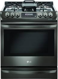 How To Clean Black Appliances Black Stainless Steel Gas Ranges