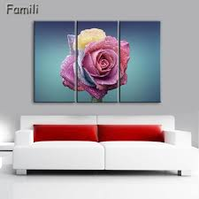 red rose canvas painting 3 piece wall art picture for wall decor canvas prints wall paintings on red rose canvas wall art with red rose canvas painting 3 piece wall art picture for wall decor