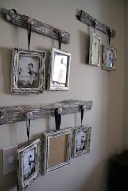 reclaimed barn wood picture frame hangers