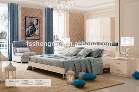 Modern Fashion Design Adult Bedroom Sets White Lacquer Bedroom Furniture King Size Bed 4 Door Wardrobe Made Of Mdf - Buy White Lacquer Bedroom ...