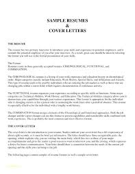 Cover Letter Job Applications Example Of A Job Resume With No