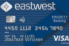 *exclusive to eastwest priority clients only. Eastwest Bank