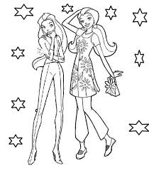 18_45 totally spies coloring pages to download and print for free on totally spies coloring pages