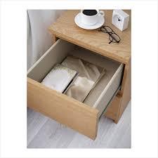 oak veneer desk awesome innovative ikea glass top bedside table malm chest 2 drawers oak