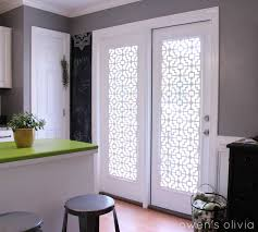 cool white window coverings sliding glass door decor with wooden floor and grey wall for kitchen ideas