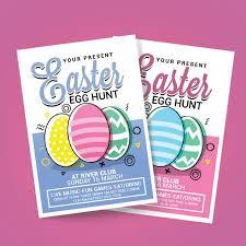 easter egg hunt template easter egg hunt poster template for free download on pngtree