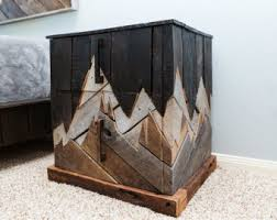unique pallet furniture. winter sun rustic furniture reclaimed wood bedroom unique nightstand natural pallet