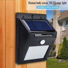 Solar Panel Lights Walmart Walfront Waterproof Sensor Light Portable Outdoor Waterproof Solar Power Led Motion Induction Lamp Sensor Light Outdoor Sensor Light