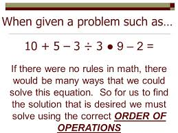 when given a problem such as 10 5 3 3 9