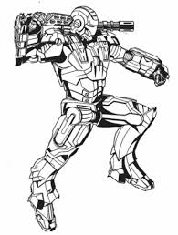 Iron Man 3 Coloring Pages For