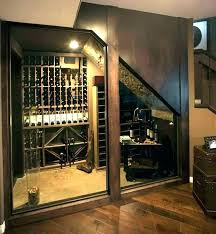 closet wine rack under stairs cellar home idea tempting plans racks r