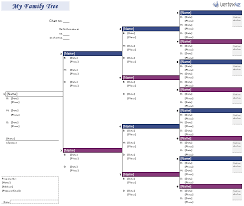 blank pedigree chart 4 generation free family tree template printable blank family tree chart