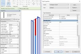 at the same time new framing and column families were shipped with revit supporting the connection code check with exact and plete information on