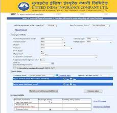 United India Insurance Company Limited Bike Insurance 2019
